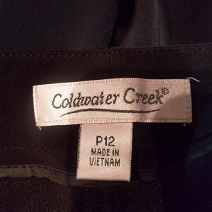 Coldwater Creek Women's Dress pants 12P